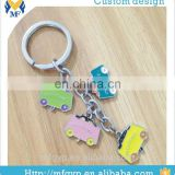 Promotional gift customized car model shaped keychain