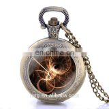 New Black Doctor Who Design Pocket Watch Necklace Vintage Pendant Quartz Unisex Pocket Watch Wholesale Fast Shipping