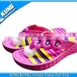 Nice PVC airblowing slippers for teenagers