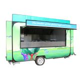 Australia standard mobile restaurant food car