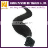 i-tip hair extensions for black women keratin prebonded hair extension wholesale