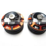 Two-tone headset double sealed cartridge bearing
