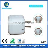 Guangzhou factory direct usb travel charger with foldable plug mobile phone chargers