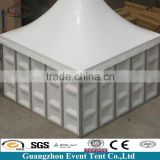 Durable aluminum farme party tent with hard wall, guangzhou wall tent for outdoor events
