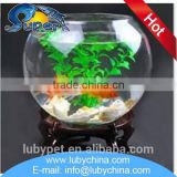 Multifunctional large glass fish bowl with wholesale price