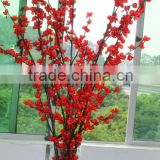 high imitation Artificial red peach flower Tree /Branch for wedding /festival decoration