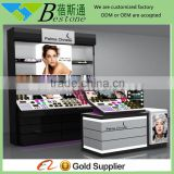 Beauty wooden perfume display rack for shops