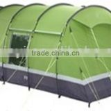 family tent,8 person 2 layers tunnel tent ,large capacity camping tent,large outdoor tent