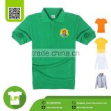 quality big tall wholesale t shirts wholesale, 100% polyester green polo shirts customized logo