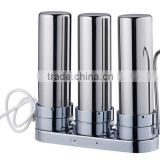 small water filter activated carbon type countertop kitchen faucet filter water tap drinking water PP+GAC+CTO