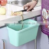 Can Waste Bin Sundries Storage Barrel for Kitchen Hanging Trash