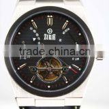 ZOBW-01W Automatic Stainless steel mechanical seagull movement mechanicl watch