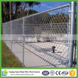 Weave heavy galvanised cyclone wire fencing with barbed wire top