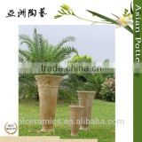 outdoor tall terracotta flower pot wholesale