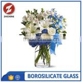different sizes borosilicate glass flower vase