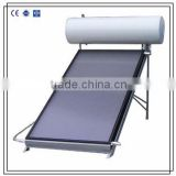 Pressurized flat panel solar hot water heater with blue chorme collector                                                                         Quality Choice