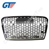 A7 RS7 SPORT GRILLE,NEW RS7 CAR GRILLE,FRONT BUMPER MESH GRILLE FOR AUDI A7 RS7
