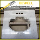 Bewell Fabricate Granite Vanity Top / Marble Vanity Top / Quartz Vanity Top For Home Depot Bathroom Vanity Top