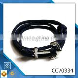different color rope fish hook bracelet personalized nylon anchor cord fibre bracelets sales leather bracelet hook clasp