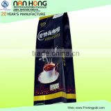 Indonesia green coffee beans aluminum foil packaging bags with degrass valve for coffee powder
