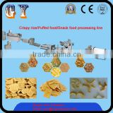 Puffed food/Snack food/Rice crispy food peocessing line/machine/equipment