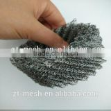 2.5-48inch width knitted stainless steel wire mesh for thermal and acoustic insulation materials