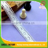 [NTSUNRISING] factory supply 2CM lovely needle bobbin lace flower making girl dress for wedding