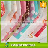 Printed Nonwoven Fabric 100% Polypropylene Spunbonded Nonwoven Fabric/printed pp nonwoven fabric material for face mask