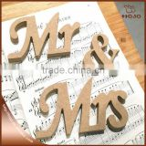 Mr&Mrs signs letters for sweetheart table decoration for wedding                                                                         Quality Choice