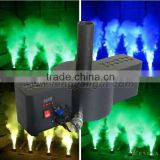 DMX 512 CO2 machine 300W rgb LED CO2 cannon Column Jet machine with 24*1W OR 3W RGB LED for club Stage Effect Machine
