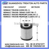 OIL FILTER 7401521527 1521527 20776259 FOR RENAULT TRUCKS 90- TRUCKS KERAX 97- PREMIUM 96- PREMIUM II 05-