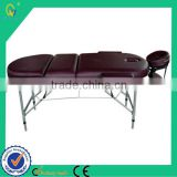 Synthetic Foldable Durable Thermal Shiatsu Massage Couch with CE Approved for Furniture Wholesale