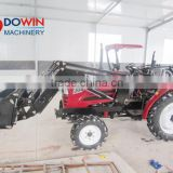4WD 50HP small garden tractor loader backhoe
