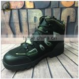 wholesale army men fashion leather ankle military boots