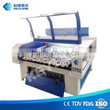 Auto Feed 80W 60W Co2 laser 1612 1610 Automatic Feeding Textile Fabric Laser Cutting Machine