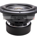 Made in China subwoofer for cars with RMS 1500-3000w Best Subwoofer 2015 SPL car Subwoofer