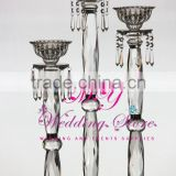 Simply type Crystal Candle Holder/Acrylic Crystal Table Candlesticks Wedding Centerpiece