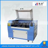 High Precision Low Price 3D 4 Axis 80W Laser Tube Laser Cutting Engraving Machine ZK-9060 For Acrylic Plexiglass MDF Plywood