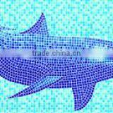 Fish Pattern swimming pool Art Mosaic Tile