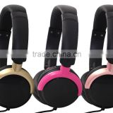 Best selling wired headphones 3.5mm jack many colors selectable free sample offered