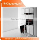 HOT SALE!! Acrylic flex shelf unit,acrylic corner shelf units,corner shelf unit,acrylic shelves,acrylic wall unit shelving