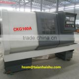 stainless steel tube polishing machine CKG160A CNC tube threading lathe/cnc turret lathe