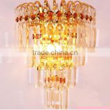 Europe design crystal light bead for wall lamp