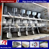 decorative fireproof mgo board making machine/mgo decoration board equipment and machine line