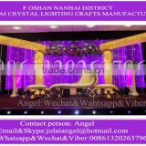 Foshan wedding banquet hall mandap decoration pillars