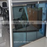modern house design unitized glass curtain wall made in china