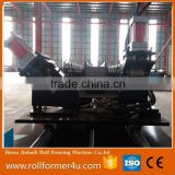 botou jinbaili metal stud and track roll forming machine c shape and omega drywall used frame machine for sale