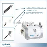 Oxygenated Water Machine Skin Water Peeling& Facial Dermabrasion&oxygen Jet Peel&spray Wrinkle Removal Gun Wrinklear Serum Microdermabrasion Beauty Machine CE