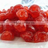 Candied Organic Dried Cherry QS certificate