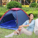 Two Person Outdoor Camping Tent for Hiking Trekking Backpacking Fishing Three-Season Tent Polyester PU Tourist Tent